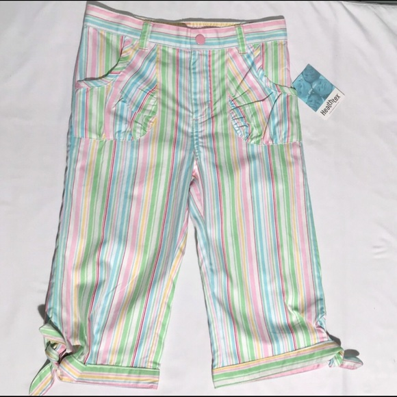 healthtex Other - 3/25 NWT New W/ Tags 🏷 Girls 👧🏼 Striped Capris